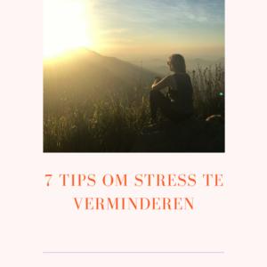 stress-verminderen